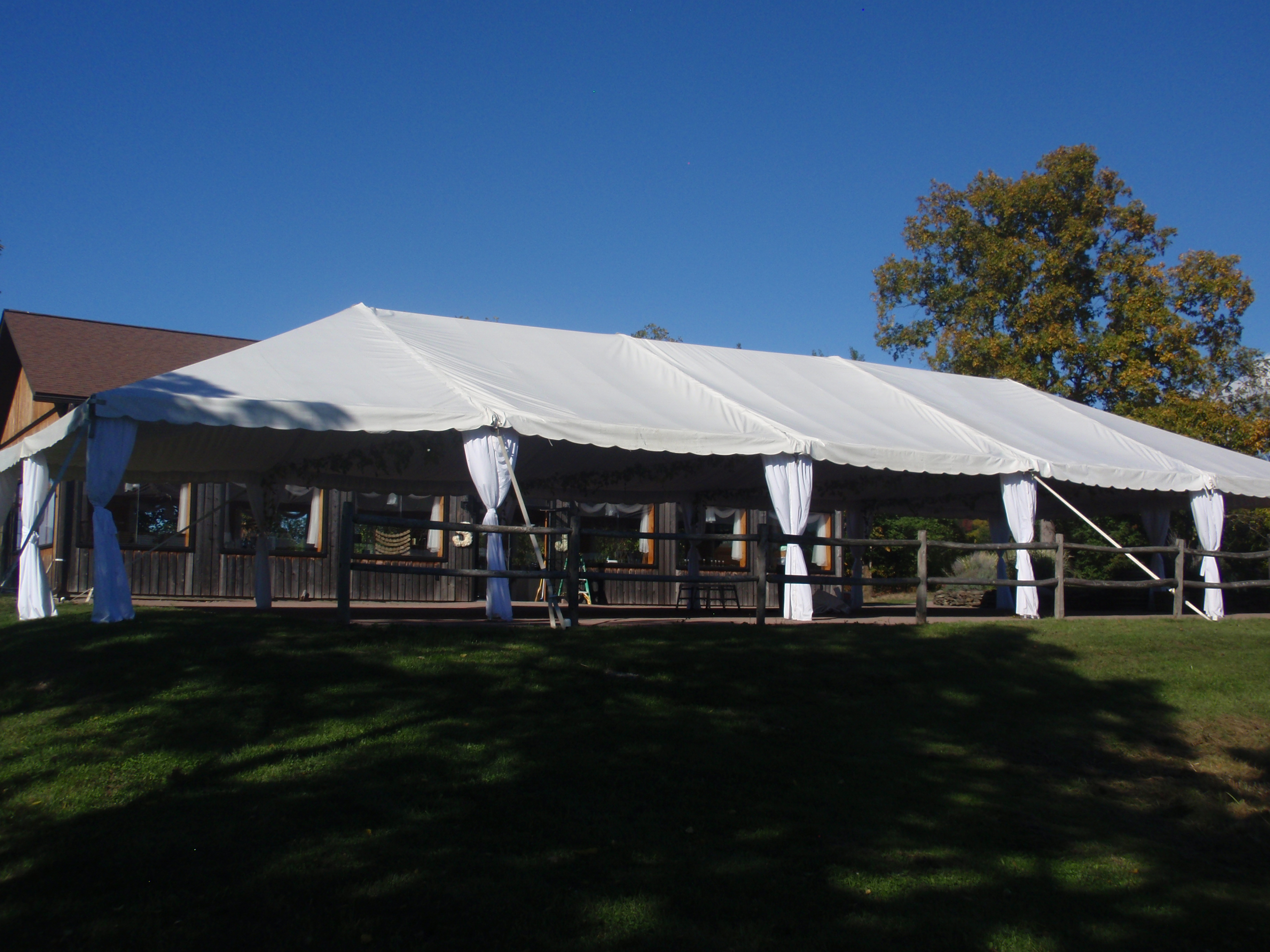 Large Tent at Event